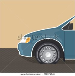 stock-vector-flat-tire-color-vector-232974646